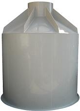 Plastová PP nádrž na úžitkovú vodu samonosná