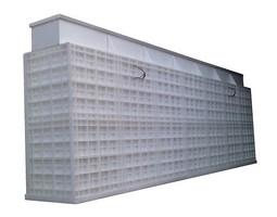 Plastové PP samonosná nadzemná nádrž na pitnú vodu hranatá