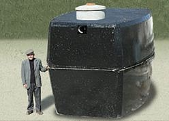 Železobetónová nádrž na pitnú vodu ( rezervoár )