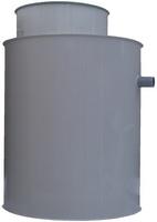 Plastová PP nádrž na úžitkovú vodu nesamonosná kruhová