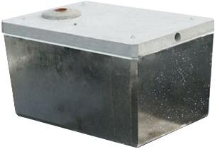 Železobetónová nádrž na úžitkovú vodu